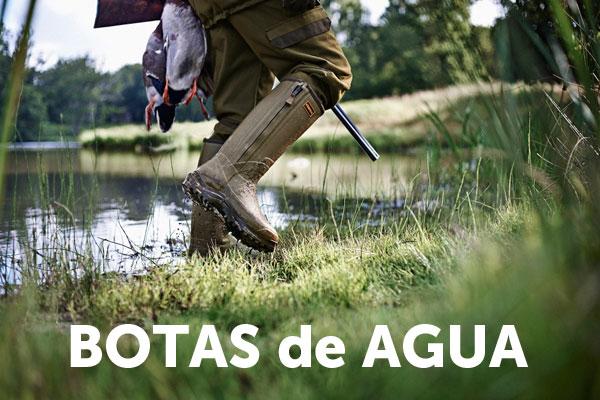 botas de agua caza hombre