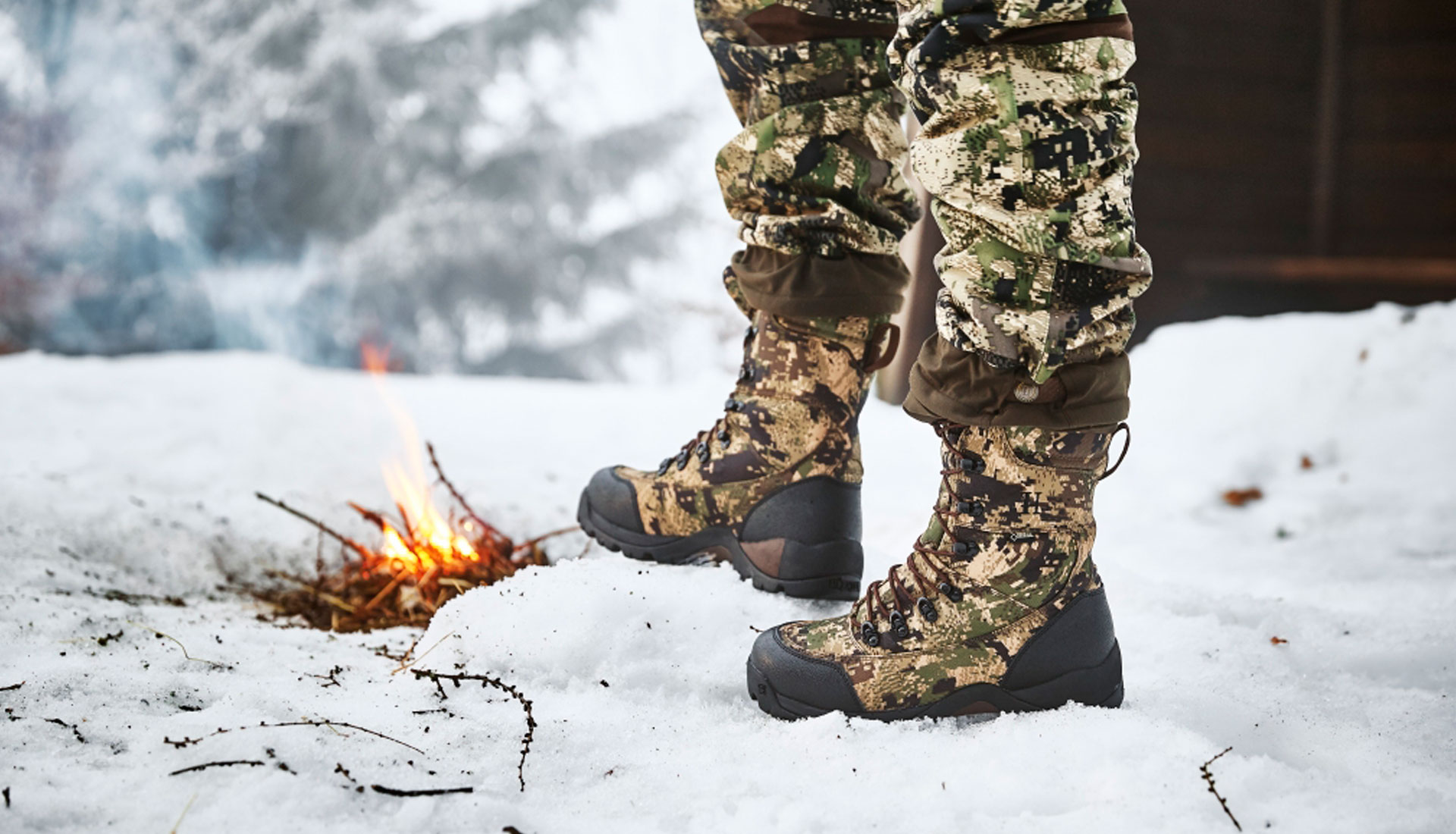 Botas de Caza Frio Extremo
