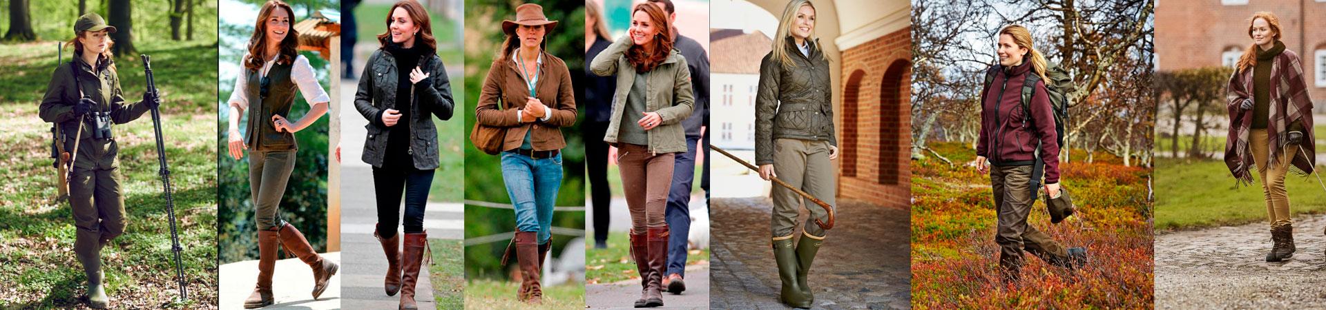 botas caza mujer